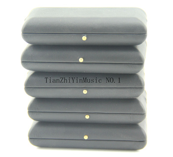 5 sztuk czarny obój Reed Case Box na 3 szt Stroiki PU Leather tanie i dobre opinie XING CHENG piece 0 2kg (0 44lb ) 11cm x 11cm x 11cm (4 33in x 4 33in x 4 33in)