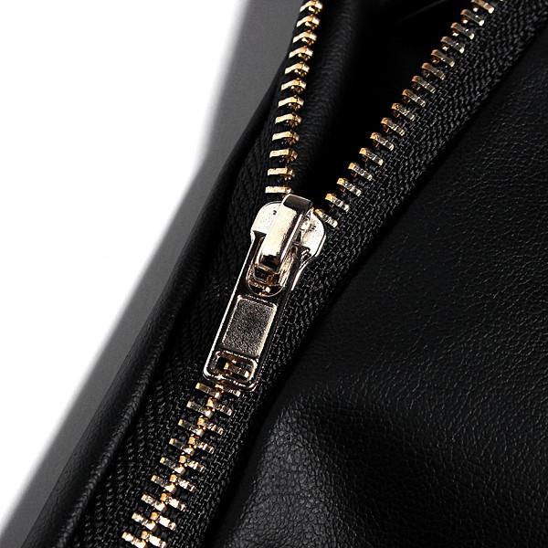 2017 New Arrival Vintage Summer Women's Fashion Sexy Black PU High Waist Shorts Slim Slit Faux Leather Shorts