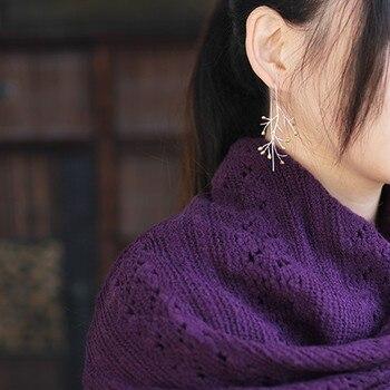 Women Sterling Silver 925 Earrings5