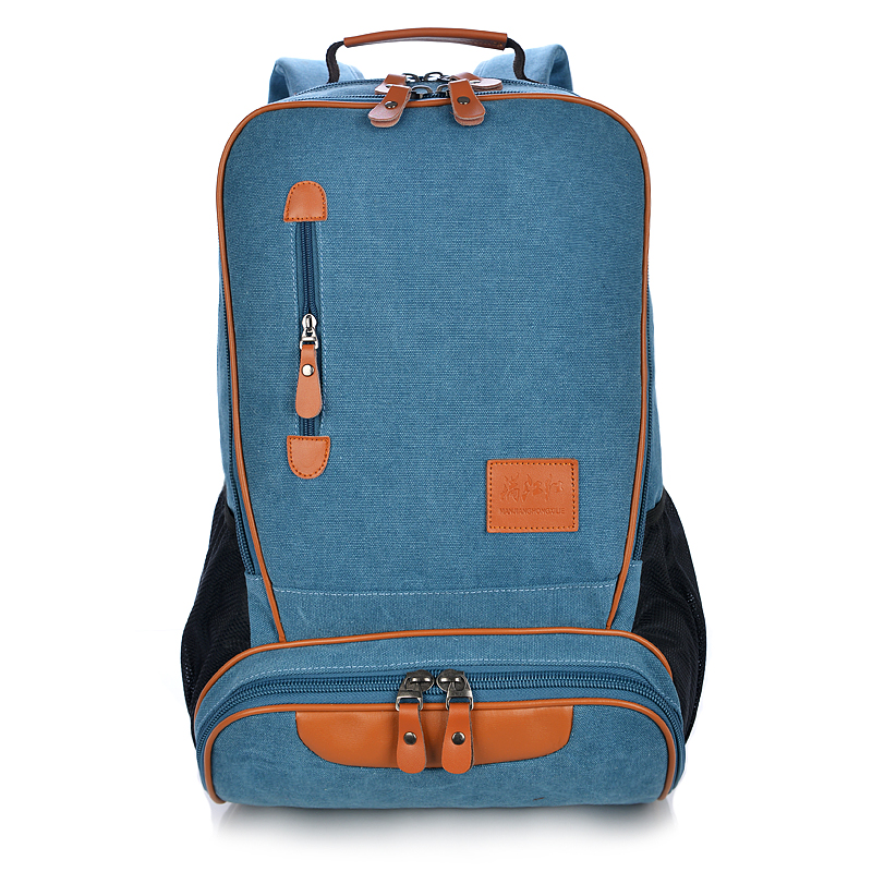 Fashion Washed Canvas Women Men Backpack Travel Vintage Retro Laptop Backpack 15 Inch Casual School Bags For Teenage Girls 1178 retro style two front pockets laptop compartment vintage canvas solid color backpack