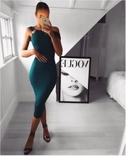 High Quality Slash Neck Knee Length Bodycon Rayon Bandage Dress Elegant Party Bodycon Dress ruched bodycon knee length dress