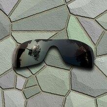 d1e93837e4 Cinza Preto Óculos Polarizados Lentes de Reposição para óculos Oakley  Batwolf(China)