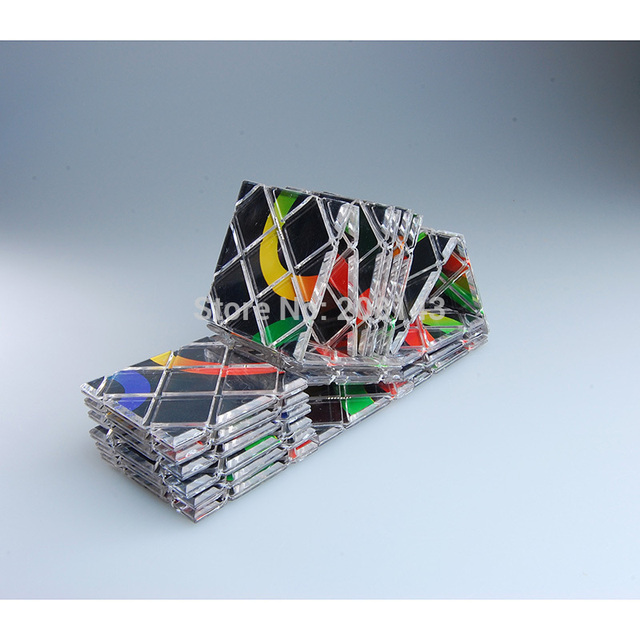 Lingao 20-en-1 plástico pizarra mágica negro caliente desafío para la mente IQ Test de juguete para niños y Speedcubers cubo