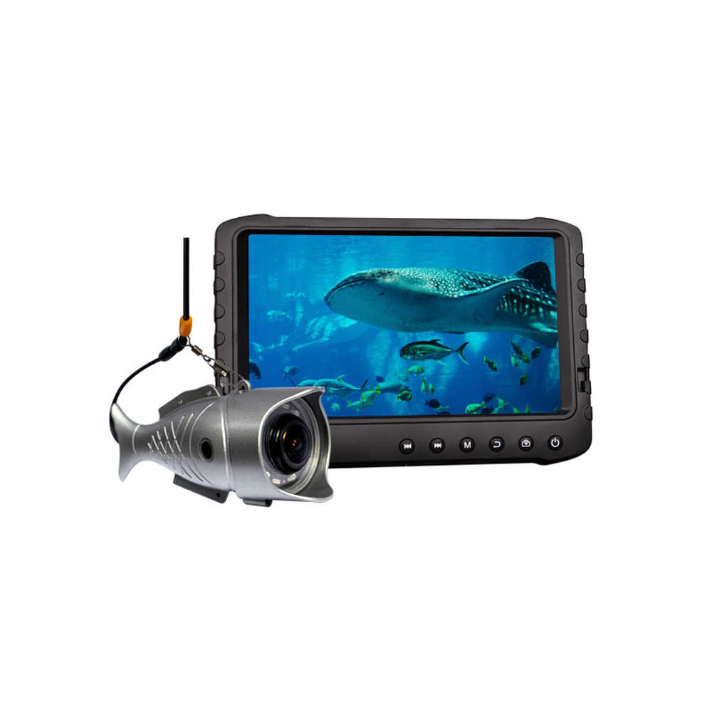 Underwater Fishing Camera Russian Menu 2MP 1080P Full HD Video Recording Fish Finder Echo Sounder for Ice Fishing Detect DVR