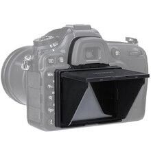 Bảo Vệ Màn Hình LCD Bật Nắng LCD Hood Shield Dành Cho Nikon D4 D4S D5 D500 D600 D610 d750 D800 D850 D7100 D7200 D7500