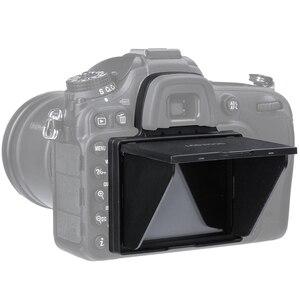 Image 1 - LCD מסך מגן מוקפץ שמש צל lcd הוד מגן כיסוי עבור ניקון D4 D4S D5 D500 D600 D610 d750 D800 D850 D7100 D7200 D7500