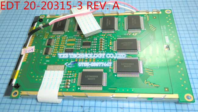 NEW Original edt 20-20315-3 display screen lcd calendar bsod large 5.7 20-20315-3  EDT 20-20315-3 REV. A