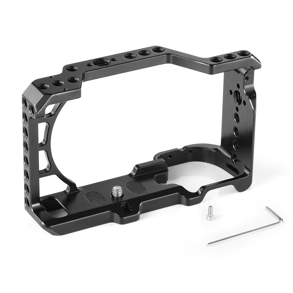 lowest price SmallRig A6400 Camera Cage for Sony Alpha A6300   A6400   A6500   A6100 Camera w  1 4 3 8 Thread Holes for Vlog DIY Option 2310