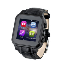 QINTEX W308S Watch Sim card support bluetooth smartwatch camera phone GSM / TF /3G/GPS/Compass Watch Phone IOS Android phone