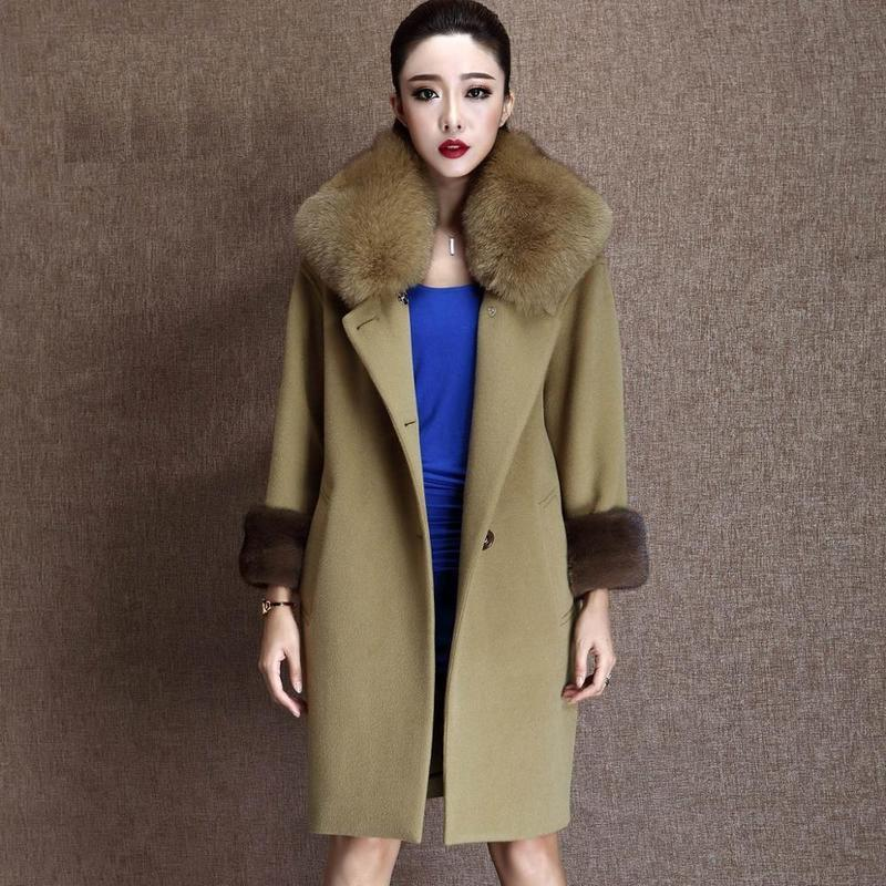 Popular Cashmere Fur Coat-Buy Cheap Cashmere Fur Coat lots from ...