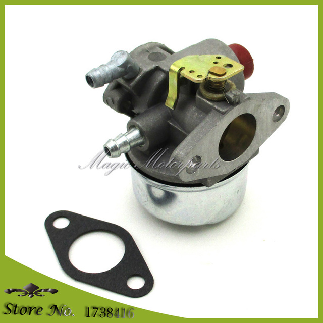 US $13 41 10% OFF|Carburetor For Tecumseh PowerSport Manco 5 5hp 6hp 6 5hp  OHV Engine Go Kart Carb-in Lawn Mower from Tools on Aliexpress com |