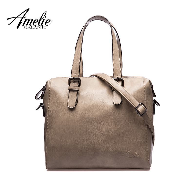 AMELIE GALANTI Women's bag retro three-dimensional crossbody bag large-capacity casual fashion brand women's handbags hot sale amelie galanti brand tote handbag