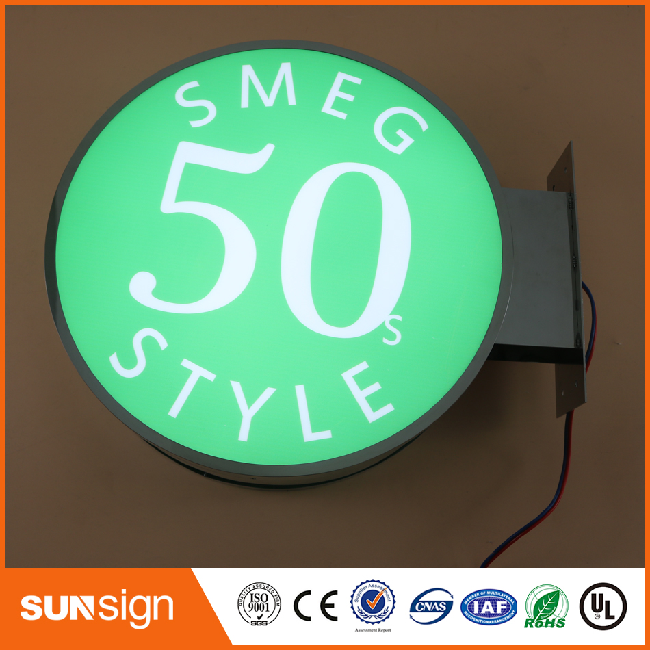 Aliexpress 3D Acrylic Advertising LED Illuminated Letters Light Box Store Front Sign Light Up Letters Customized