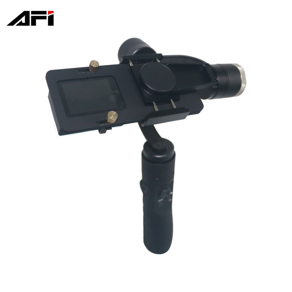 new products on china market AFI V3 cheap gopro 3 axis gimbal handheld stabilizer for gopro