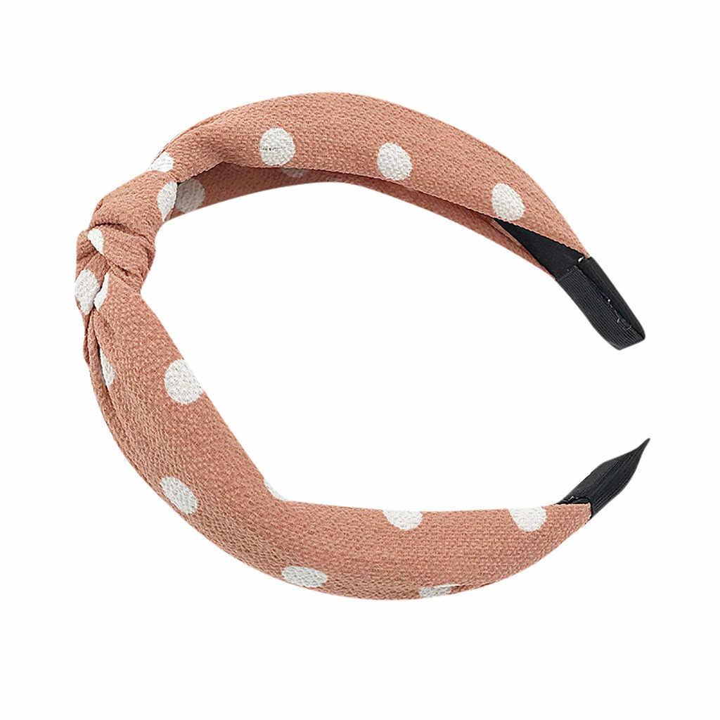 Acessórios Para o cabelo do vintage headband Mulheres scrunchie Nó Headband Hairband Fita Tartan Do Vintage Senhora Menina Retro Headband * 0.25/1.1