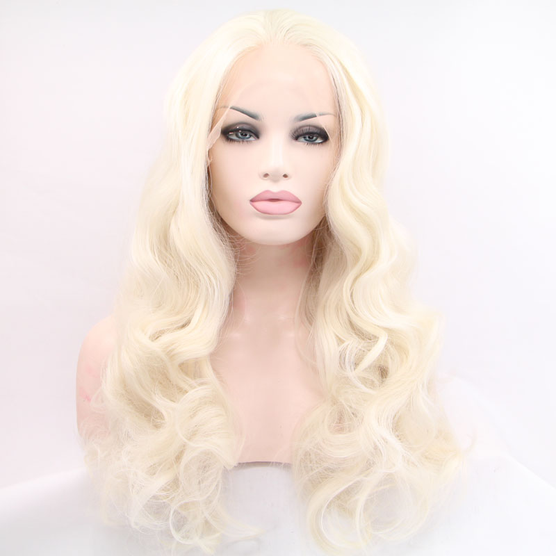 queen hair body wave lace front wigs for black women synthetic hair wig heat resistant fiber free shipping  in stock