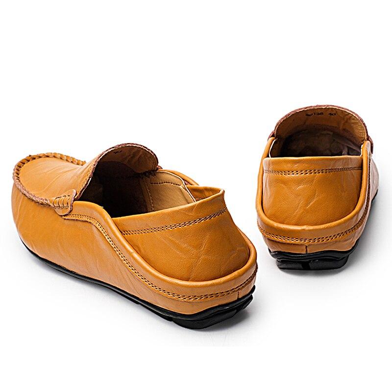 Causales 20138blue En Sneakers Véritable Luxe Pas Haute Cuir 20138brown Bateau 20138black Chaussures Adulte Qualité Mocassins Hommes Cher De Iq0gra1wI