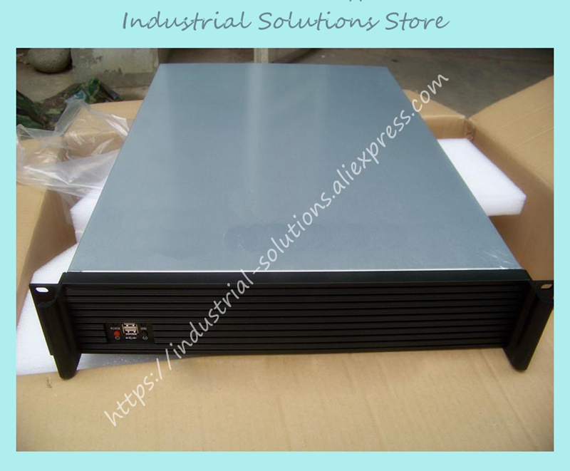 New Top 2U 650 Long Computer Case Industrial Computer Case Server Computer Case Sungreat 510W Power Supply new ultra short 3u computer case 38cm 8 hard drive pc large panel big power supply 3u server industrial computer case