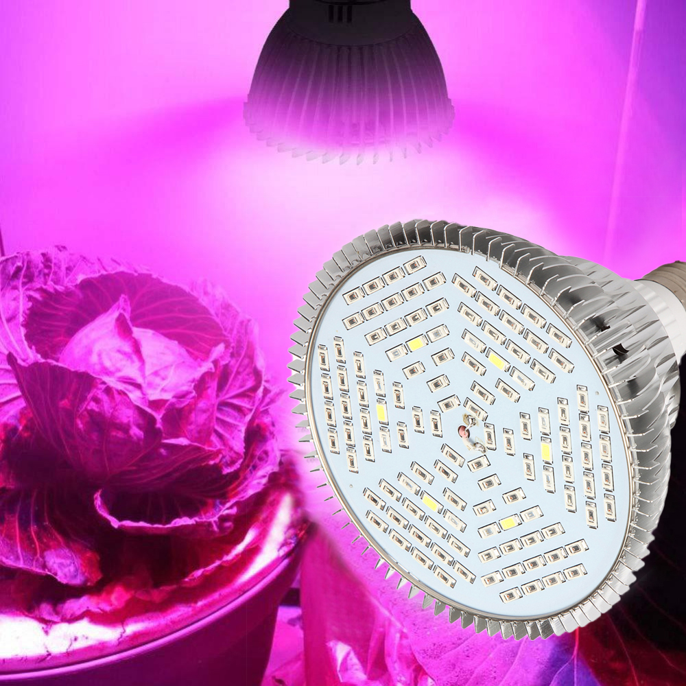 Hydroponic Plant Grow Light 30W 50W 80W E27 LED Plant Grow Light Full Spectrum Plant Grow Light in LED Grow Lights from Lights Lighting
