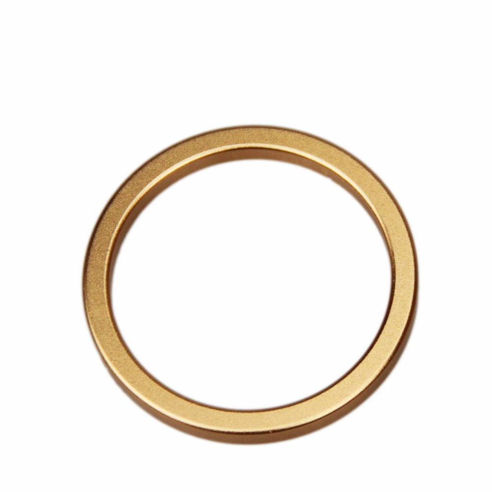 Dia6cm Delay Cock Rings Ejaculation Stainless steel Material Penis Rings Adult Sex Toys Sex Products For Men ED lock