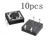 10pcs Quality Mini PCB Momentary Tactile Push Button Switch SPST