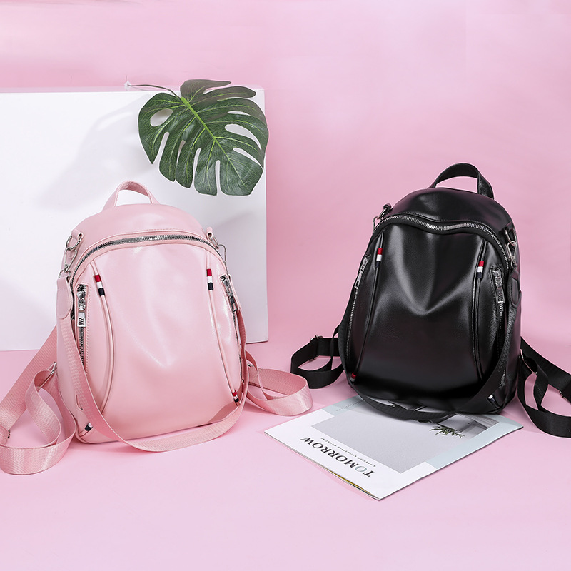 Backpacks Shoulder-Bags Teenage-Girls Female Large-Capacity School New-Fashion PU Big-Bag