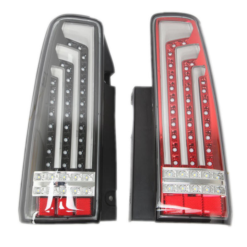 For Suzuki jimny / jimny Metal Top 1998-2015 LED Brake Lights Reversing Lights Rear Lights Daytime Running Lights Car Styling