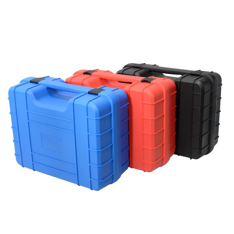 Tool Box Safety Protection Box Travel Outdoor Plastic Box Protective Equipment Instrument Case With Sponge 385x310x171mm