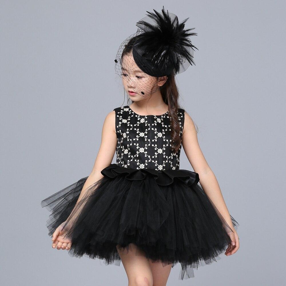 Custom Girls Wedding Flower Girl Dress Princess Party Pageant Formal Dress  Black Kids Girl Tulle Ball Gown Tutu Dress With Cloak - aliexpress.com -  imall. ... 9839502e532f