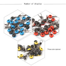 50pcs/lot Fishing Float Bobber Stops Space Beans Connectors Sea Saltwater Fishing Tools Equipment Plastic Metal NEW SET