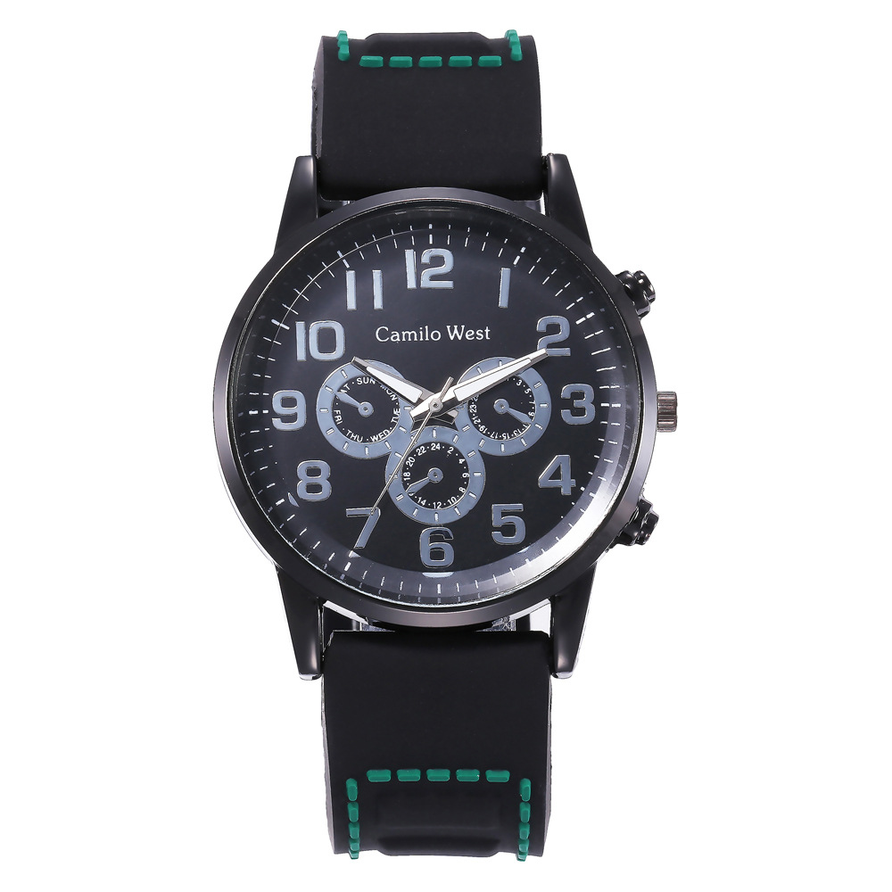 2019 Men Sport Watches Silicone Strap Quartz Analog Watch Men Military Watch Relogio Masculino Reloj Montre Homme