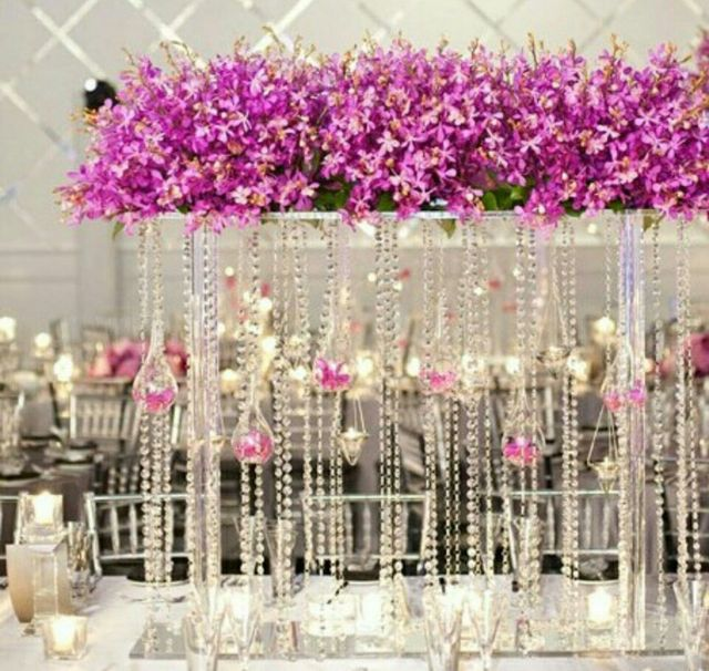 About 30 Days Can Sent Order Wedding Decoration Acrylic Crystal