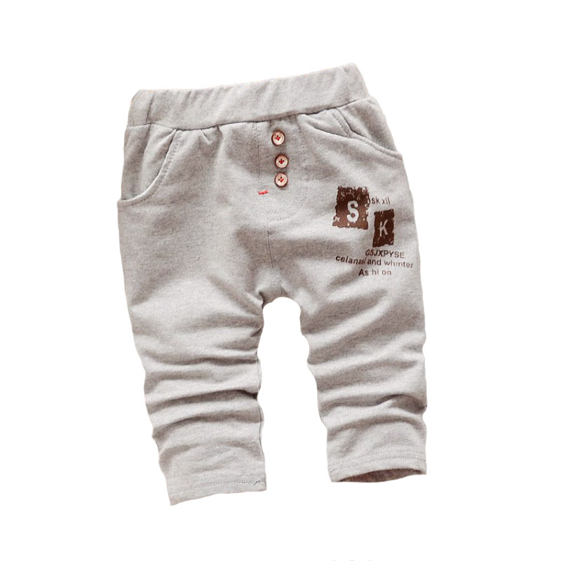 87230fcaeab7 Baby cotton harem pants 2016 new spring and autumn fashion leisure letters  printed pants baby boy 0-2 years old baby girls pants