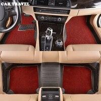 CAR TRAVEL Custom Car Floor Mats For Cadillac SLS ATSL CTS XTS SRX CT6 ATS Escalade