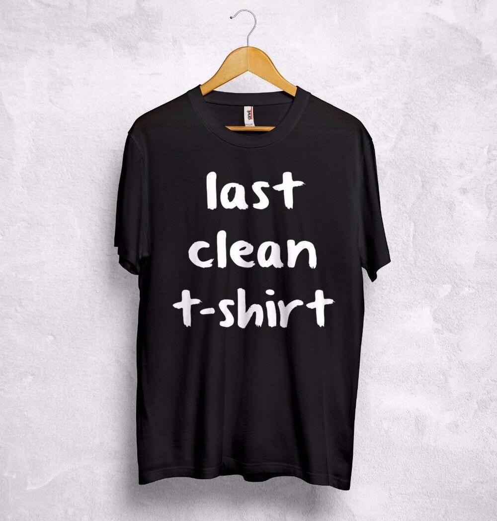 Utolsó tiszta póló Vicces szöveg szarkazmás Cara Delevingne - Női ruházat - Fénykép 4