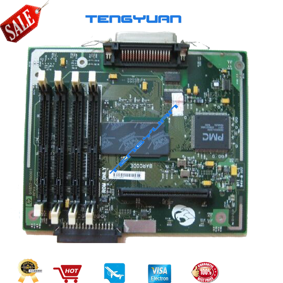 Free shipping 100% test formatter board for HP5100 Q1860-67901 mainboard printer parts on sale free shipping 100% test for hp2700n formatter board cb455 60001 q7825 67901 printer parts on sale