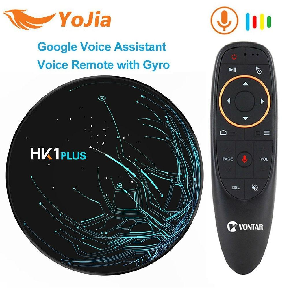 4GB RAM 64GB HK1 Plus 4K Android 9.0TV BOX Amlogic S905X2 Quad Core Dual Wifi Bluetooth4.0 USB3.0 H.265 Youtube Google Play4GB RAM 64GB HK1 Plus 4K Android 9.0TV BOX Amlogic S905X2 Quad Core Dual Wifi Bluetooth4.0 USB3.0 H.265 Youtube Google Play