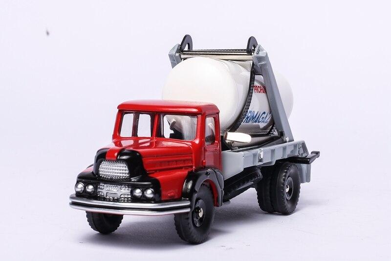 Atlas 1:43 Dinky Toys 805 CAMION UNIC MULTIBENNE ET CITERNE Alloy Diecast Car model & Toys Model NEW BOXED 1 43 dinky toys 587 camion camionnette citroen tub hy h philips atlas alloy diecast car model