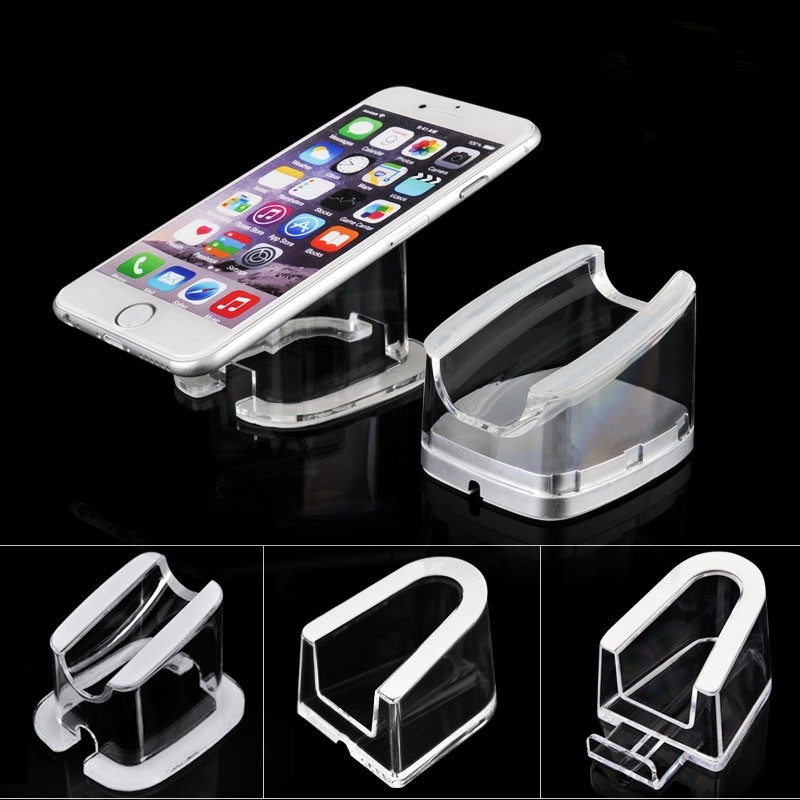 10 pcs cell mobile phone security display stand Acrylic Ipad holder tablet anti-theft bracket for smart phone retail seure rack все цены