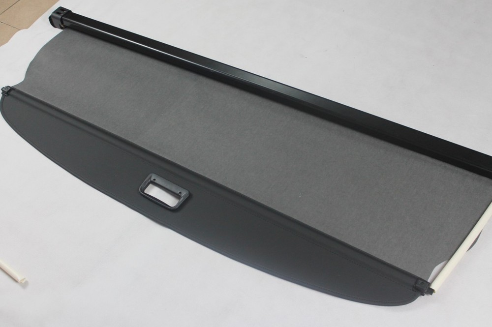 High Quality!For  Kia Sorento 2009 2010 2011 2012 Rear Trunk Security Shield Cargo Cover Black car rear trunk security shield shade cargo cover for nissan qashqai 2008 2009 2010 2011 2012 2013 black beige