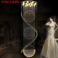 Modern Led Lustre Crystal Chandelier Lighting For Dining Living Room Candle Chrome Ceiling Chandeliers Lamp Indoor