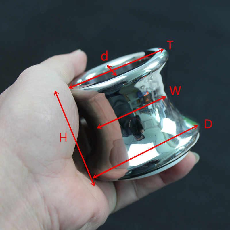 נירוסטה אנאלי טבעת אנאלי תקע התחת Eurynter Dilater מפזר הרחבת פי הטבעת אנאלי מין צעצוע למבוגרים משחק H8-1-36
