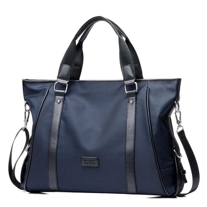 Brand New Handbag Men Nylon Briefcase Fashion Shoulder Bags Casual Travel Crossbody Bag Tote Bag Men's Messenger Bags