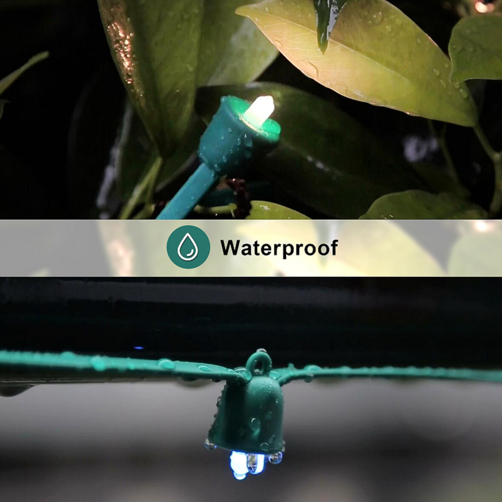 playbulb christmas lights waterproof