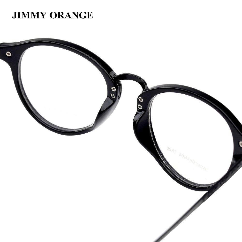 JIMMY Equipo NARANJA Gafas de Lectura TR90 Marco Redondo Retro ...