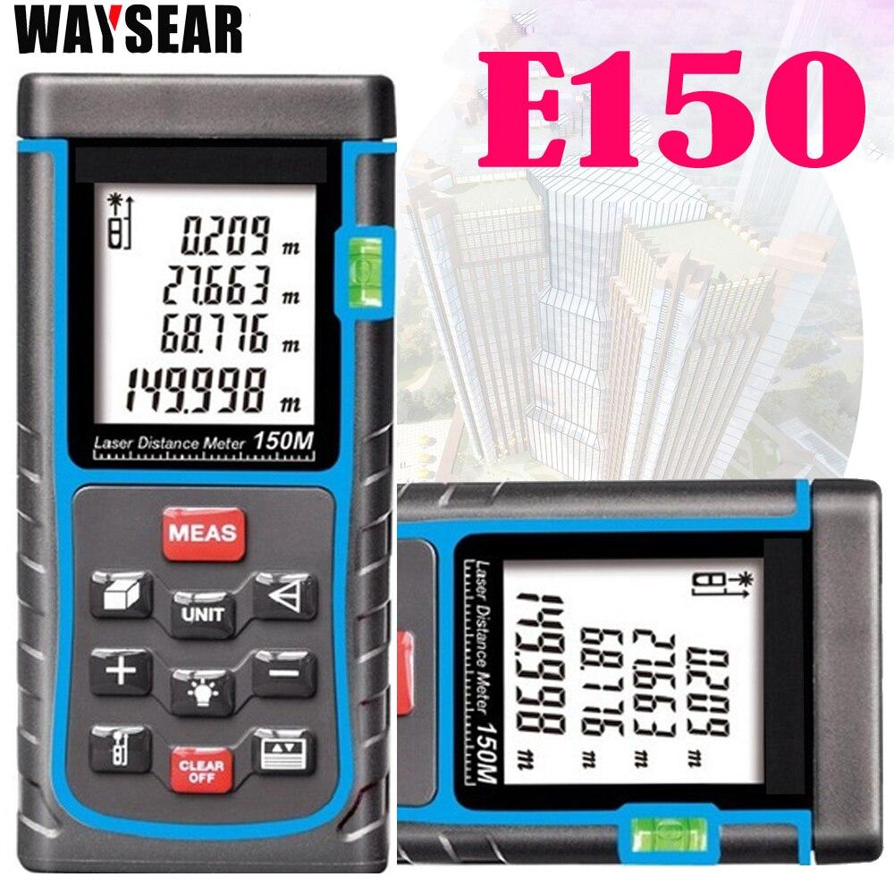 Telémetro láser 40 m/50 m/60 m/70 m/80 m/100 M medidor de distancia Digital láser rango buscador de cinta Área de volumen-Medidor de distancia láser