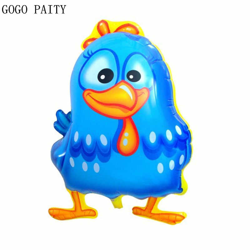 GOGO PAITY Free shipping children's toys aluminum balloons wedding holiday party decoration balloon auspicious chicken