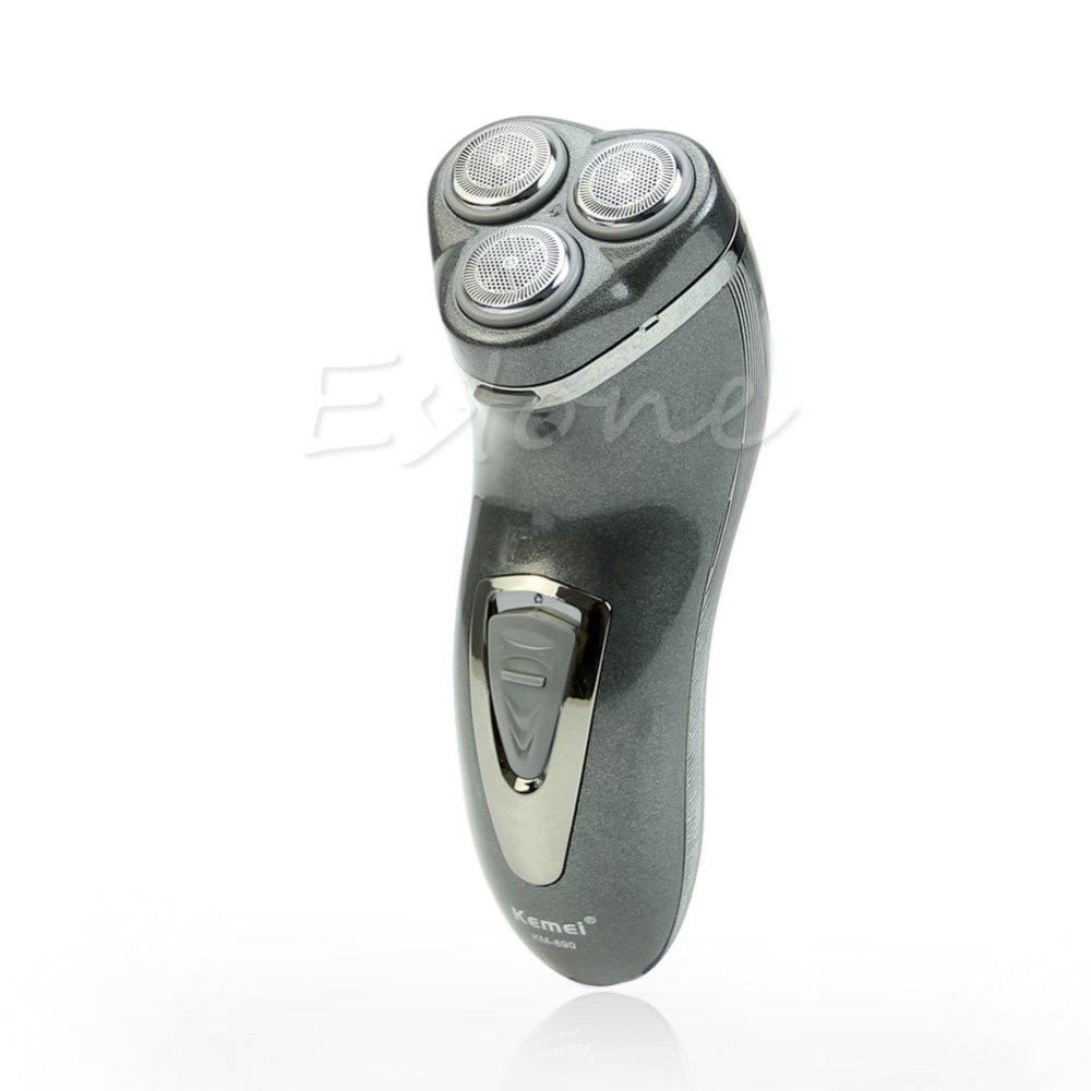 2015 Rechargeable Rotary 3D Man Men's Cordless Electric Shaver Razor Deluxe