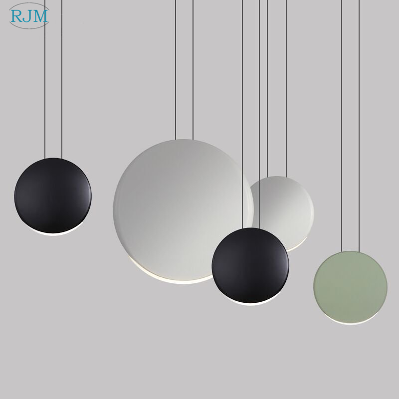 Nordic Post-modern Simple Led Pendant Lights Creative Personality Aluminum Hang Lamps Living Room Restaurant Bar Bedroom LightsNordic Post-modern Simple Led Pendant Lights Creative Personality Aluminum Hang Lamps Living Room Restaurant Bar Bedroom Lights
