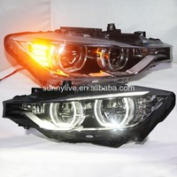 For BMW F30 F35 318 320 325 328 330 335 LED Angel Eyes Headlight assembly SY